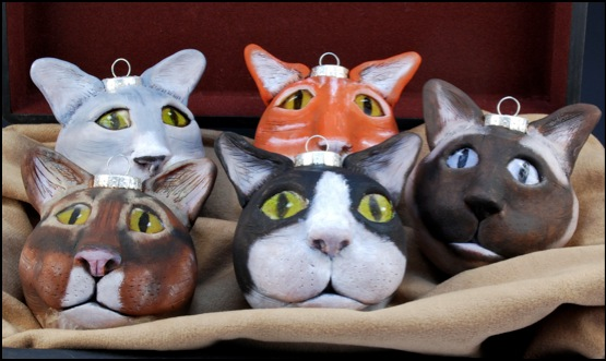 Cat Ornaments